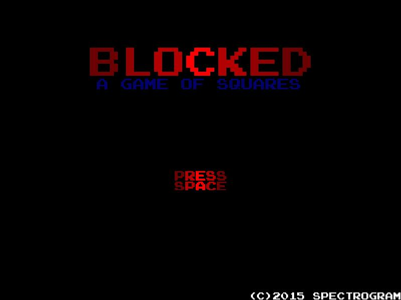 BLOCKED: A Game of Squares | Early (Early) Alpha
